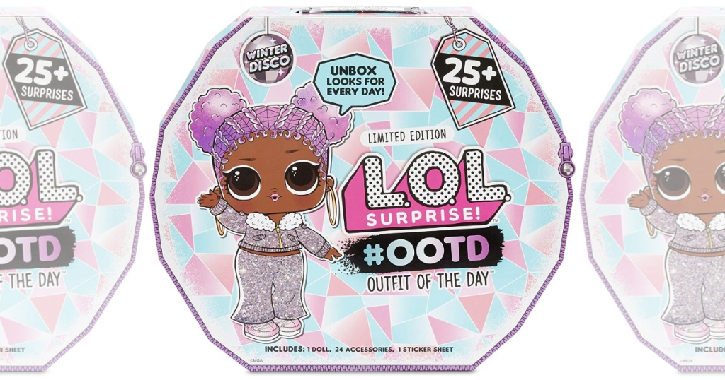 L.O.L. Surprise! #OOTD Outfit of The Day Winter Disco