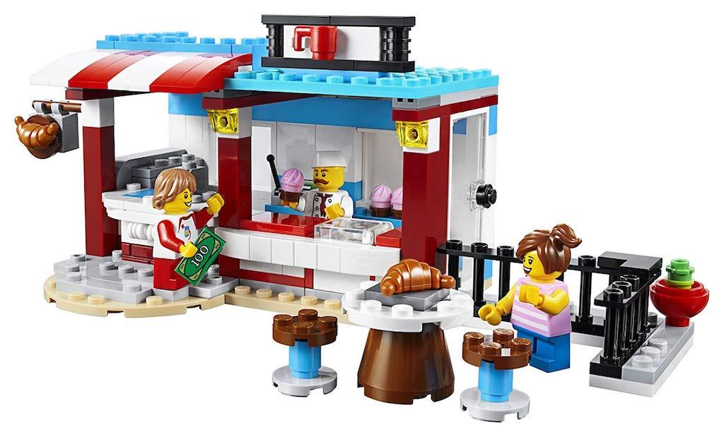 LEGO Creator 3-in-1 Modular Sweet Surprises set