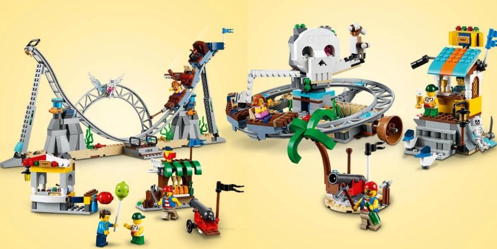 LEGO Creator Pirate Alternate Builds