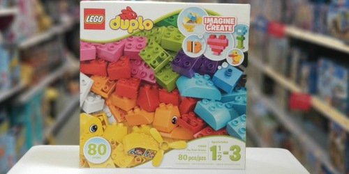 LEGO DUPLO My First Bricks Set Only $11.99 (Regularly $23)