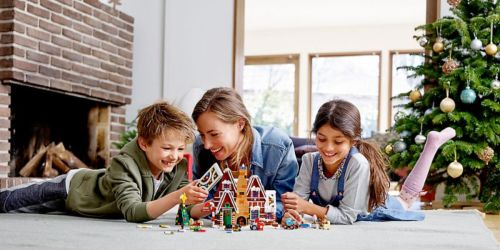 This New LEGO Gingerbread House Makes a Sweet Holiday Gift & It's Available Now