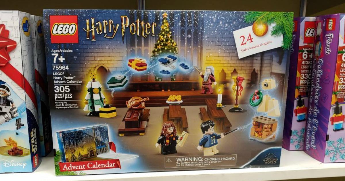 Calendario Harry Potter.Lego Harry Potter Or Star Wars 2019 Advent Calendar Just