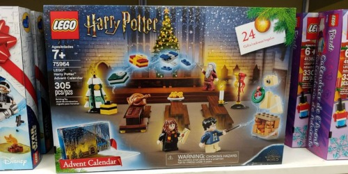 LEGO Harry Potter or Star Wars 2019 Advent Calendar as Low as $32.99 (Regularly $40)