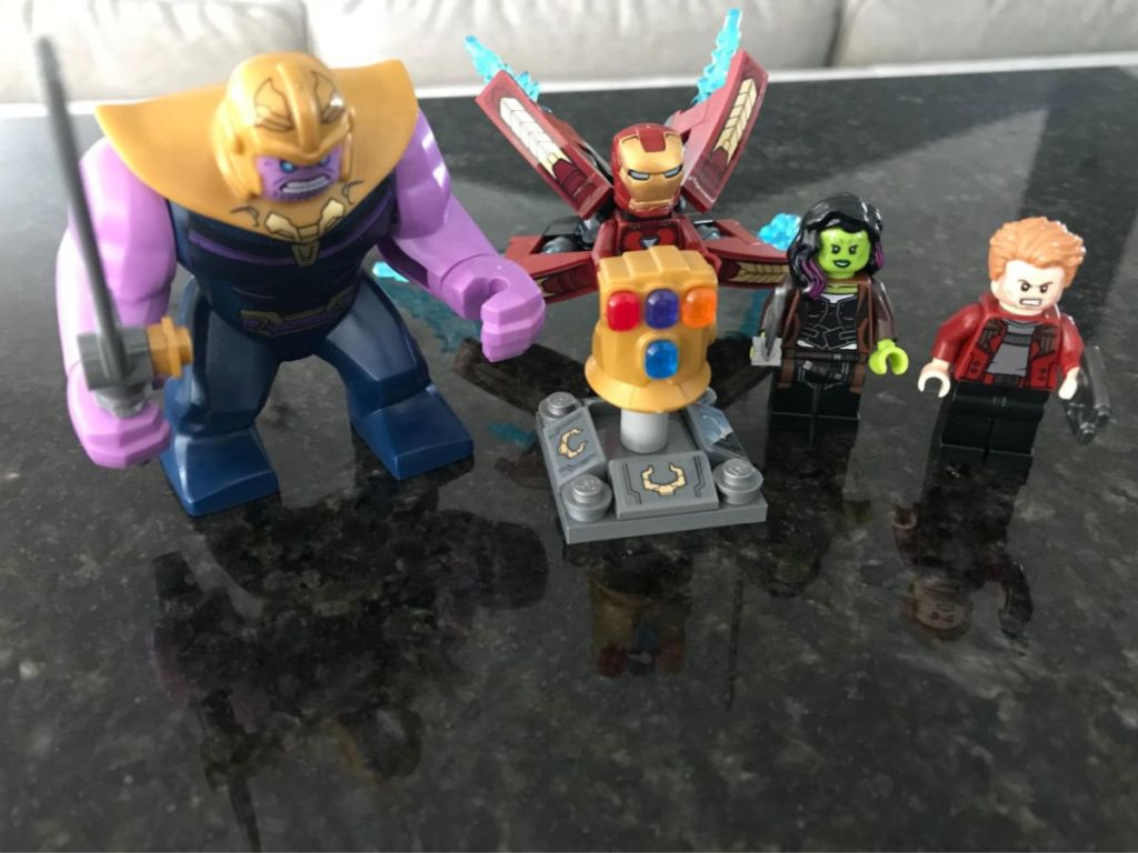 Lego Marvel Super Heroes Thanos Ultimate Battle Set Only 48 75 Shipped Regularly 70 More Hip2save