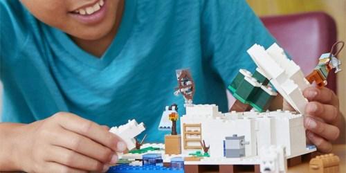 LEGO Minecraft The Polar Igloo Building Kit Only $18.99 (Regularly $30)