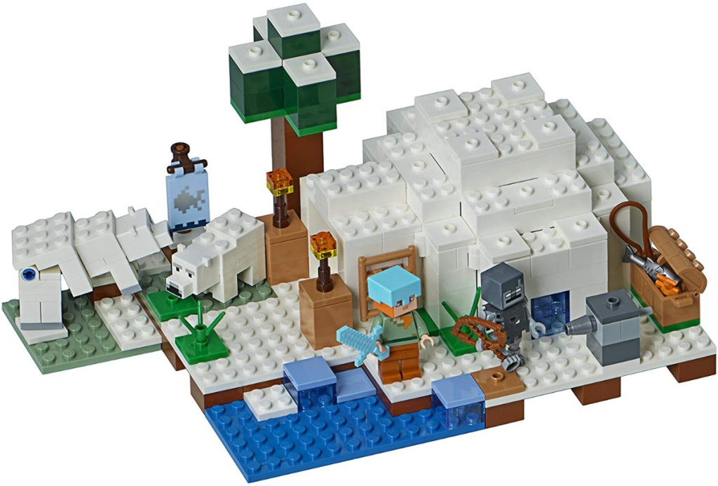 LEGO Minecraft The Polar Igloo Building Kit