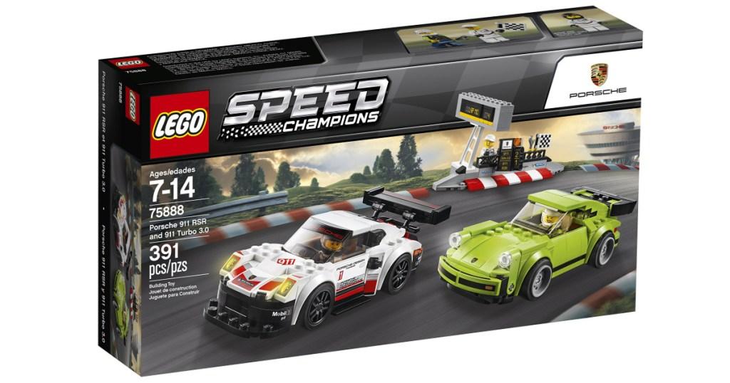 lego speed champions porsche building kit in box