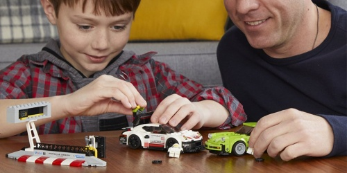 LEGO Speed Champions Porsche Turbo Building Kit Just $19.99 (Regularly $30)