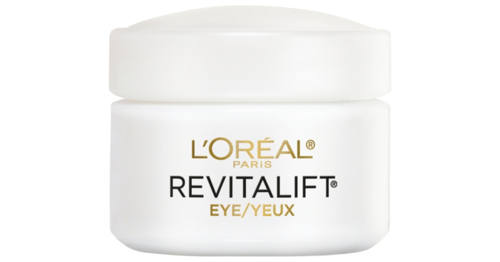 container of loreal anti wrinkle eye cream