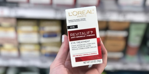 L'Oreal Paris Revitalift Eye Treatment Only $5.89 Shipped at Amazon (Regularly $18)