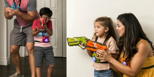 Laser Tag Blasters & Vests 8-Piece Set Only $39.99 Shipped | AWESOME Reviews