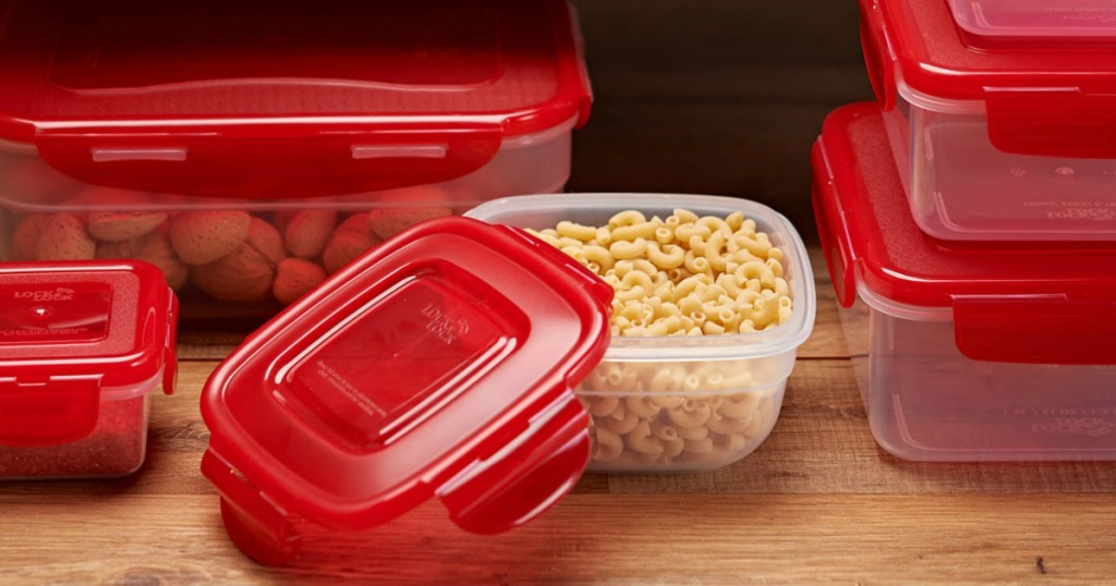 Lock & Lock Container Set with noodles