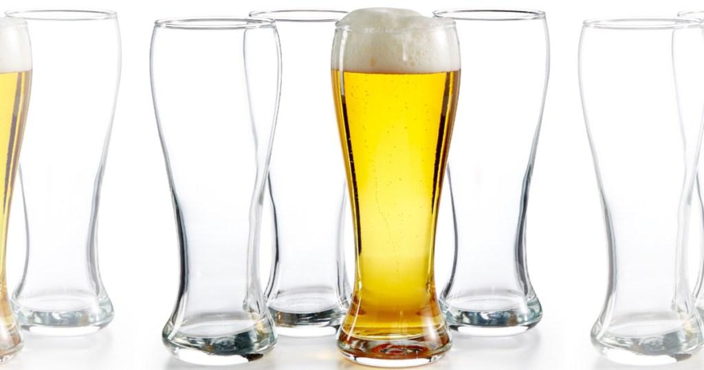 Luminarc Craftbrew 4-Piece Pub Pilsner Glass Set