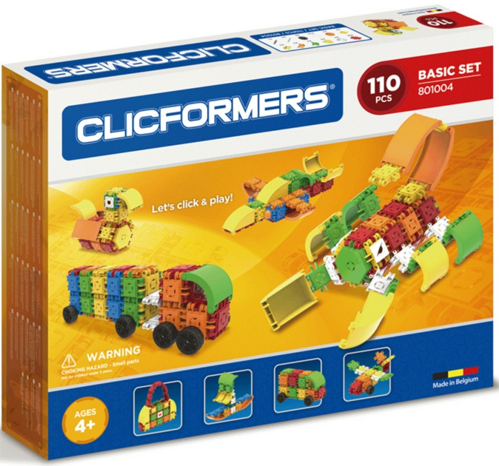 Magformers Clicformers Basic 110-Piece Set
