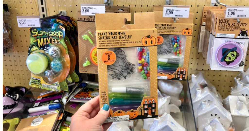 Make Your Own Shrink Art Jewelry Kit at Target