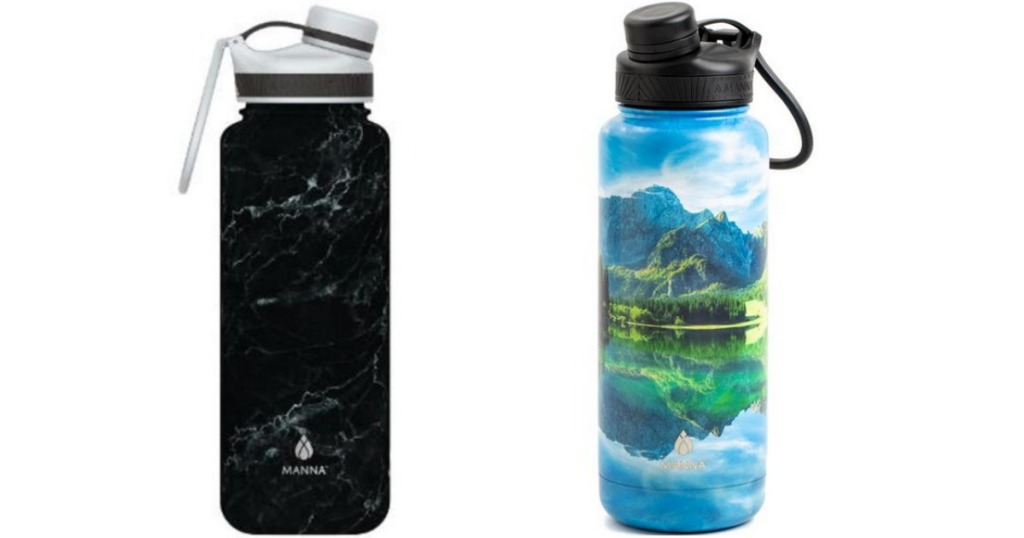 Manna Ranger 40 in black marble or lake colors