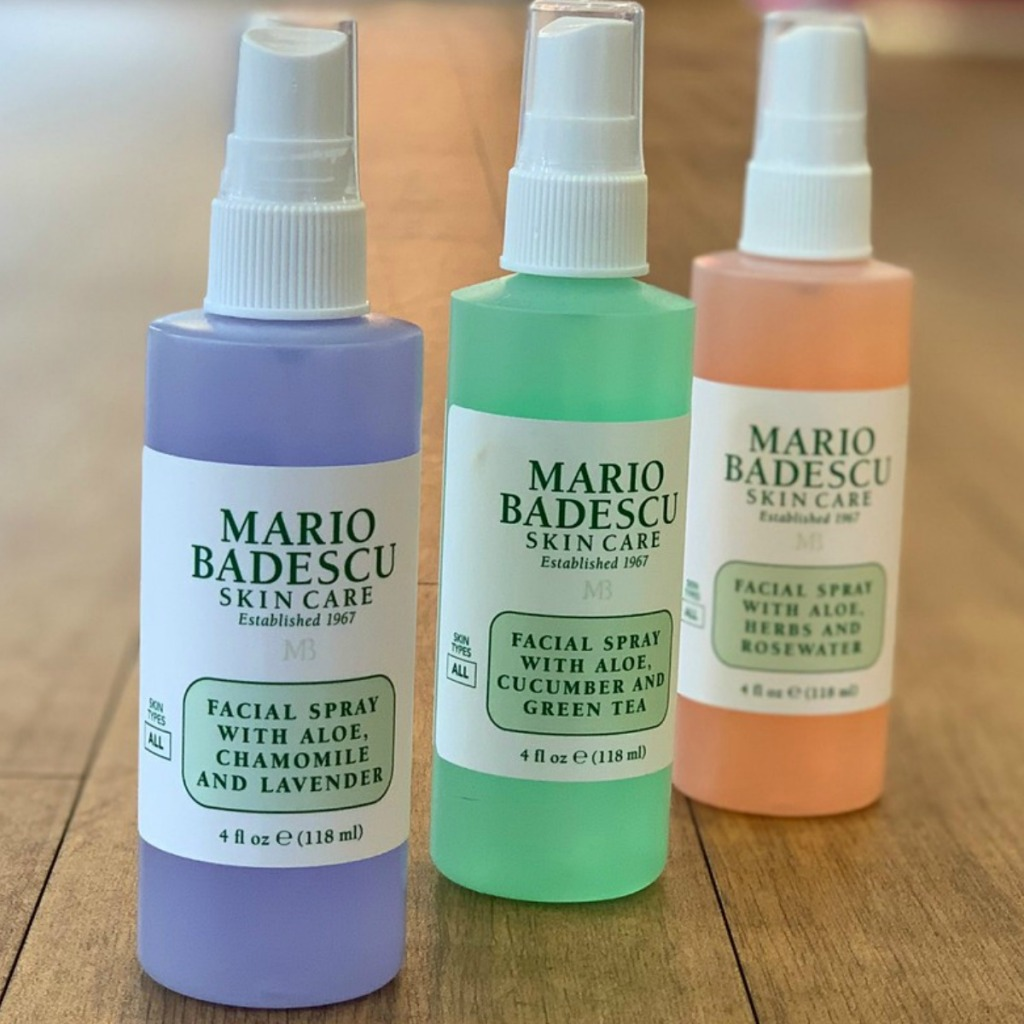 Mario Badescu brand skin care products