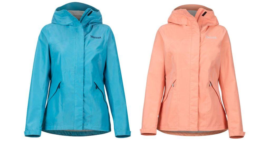2 marmot womens jackets