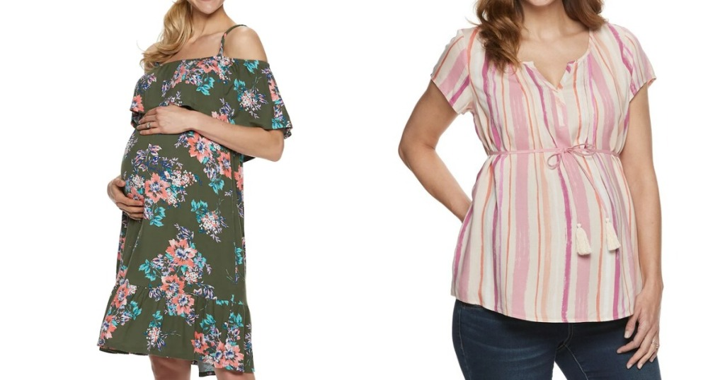 Maternity Clothes at Kohl's