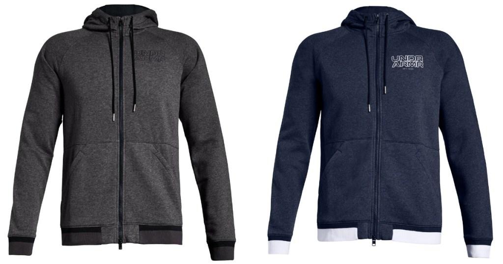 2 mens under armour hoodies