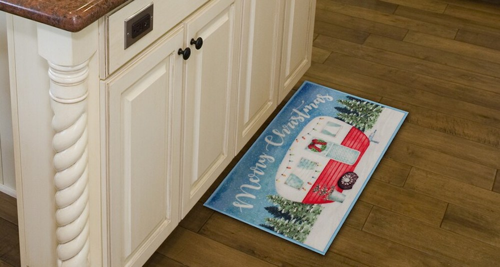 Merry Christmas Camper Rug at Kohl's