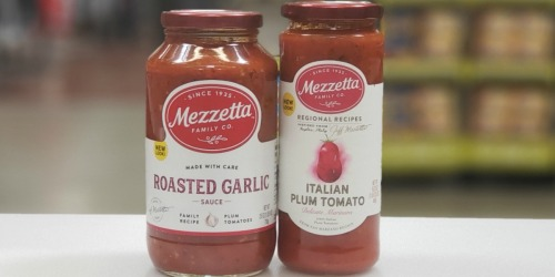 New $1.50/1 Mezzetta Pasta Sauce Coupon