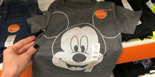 Disney Baby & Kids Tees as Low as $3.84 at Kohl's (Regularly $16)