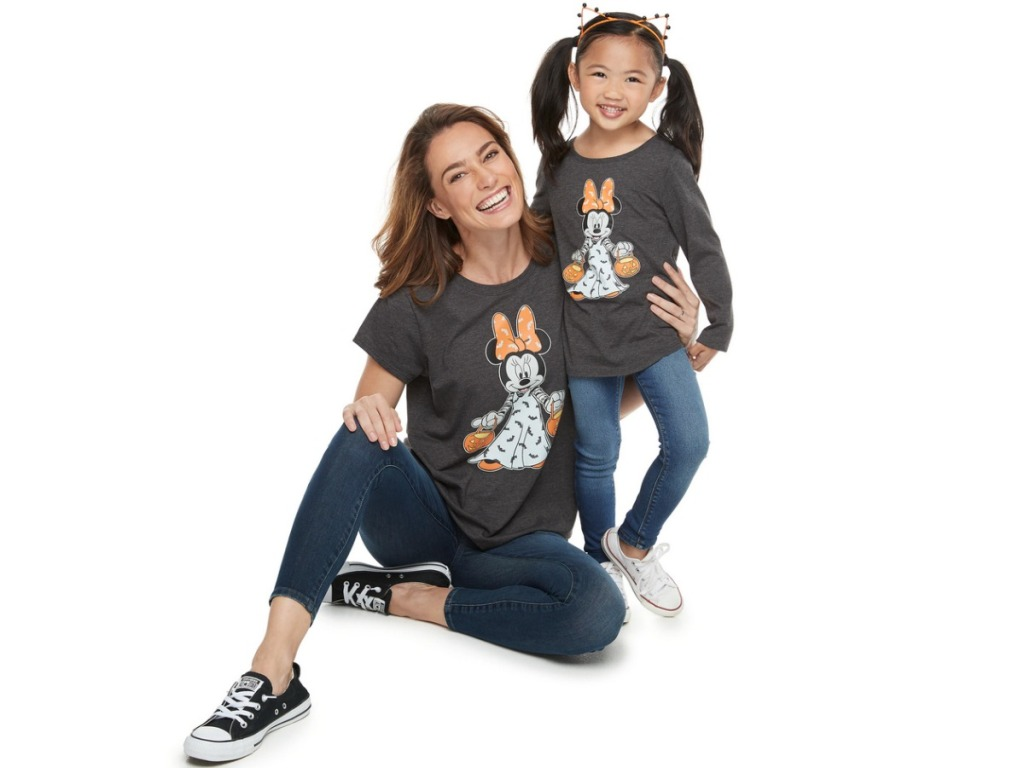 Minnie Mouse Halloween Matching Tees
