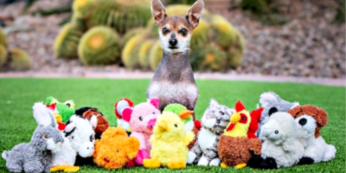 Multipet Dog Toys as Low as $1.66 (Regularly $7+)