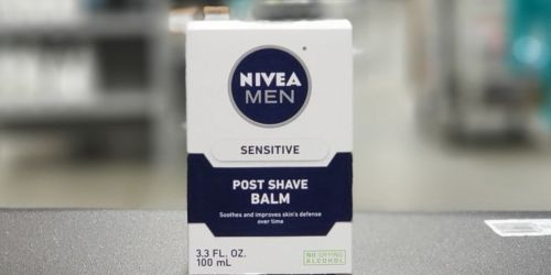 NIVEA Men Sensitive Post Shave Balm 3-Pack Only $10.64 Shipped at Amazon | Just $3.54 Each