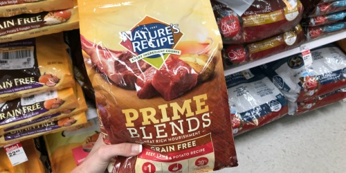 $5 Worth of New Nature's Recipe Prime Blends Dog Food Coupons