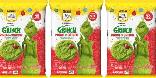 Nestlé's New Pinch of Grinch Cookies Are Coming to a Cookie Jar Near You!