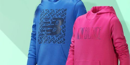New Balance Kids Hoodies Only $14.99 at Zulily (Regularly $40)
