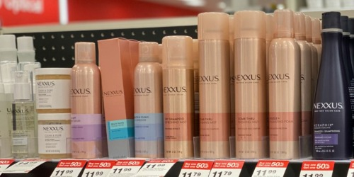 Up to 80% Off Haircare at Target | Nexxus, Tresemme, & More