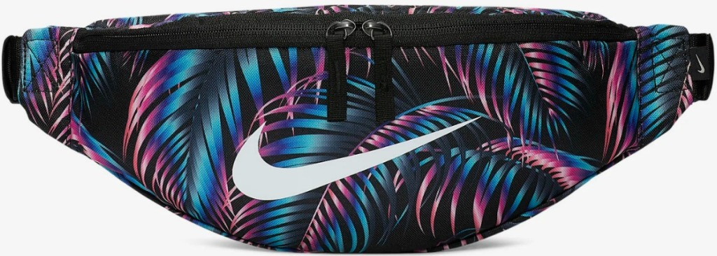 Nike Heritage Fanny Pack with colorful design