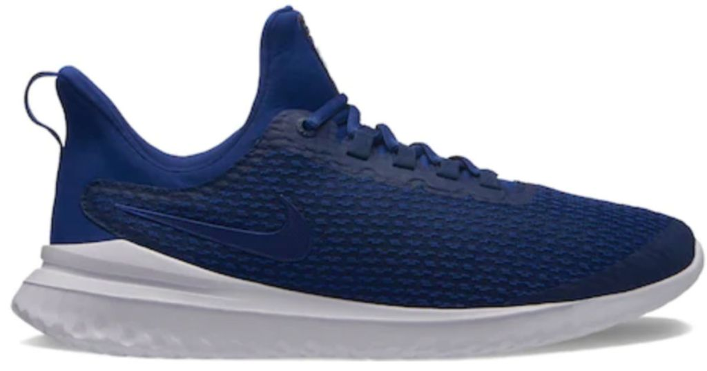 blue Nike Renew Rival Men's Running Shoes