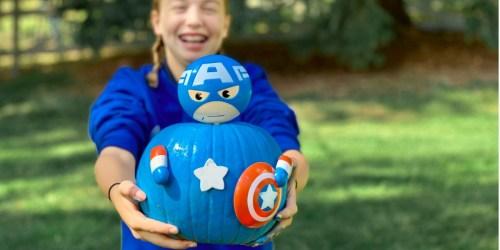 No-Carve Pumpkin Kits as Low as $9.50 Shipped at Target   Captain America, Cinderella & More