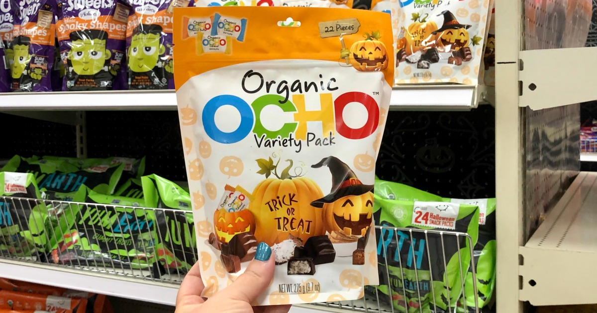 OCHO Organic Halloween Candy Variety Pack Only $5.24 at Target