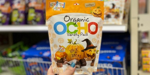 OCHO Organic Candy Halloween Variety Pack as Low as $4 Each at Target | Great for Trick or Treaters