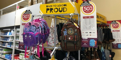 50% Off Backpacks, Water Bottles & Lunch Bags at Office Depot/OfficeMax