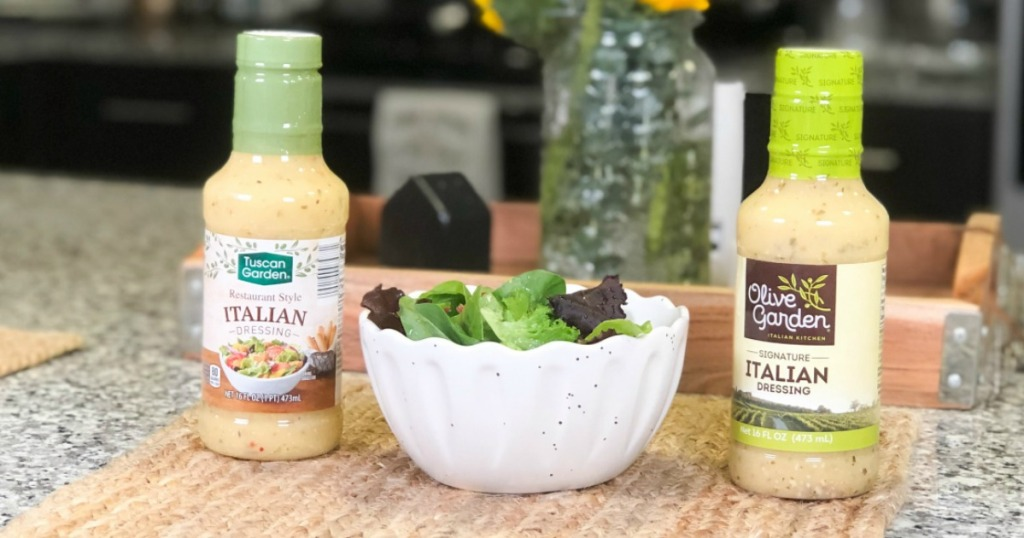 Olive Garden Dressing and Tuscan Garden Dressing