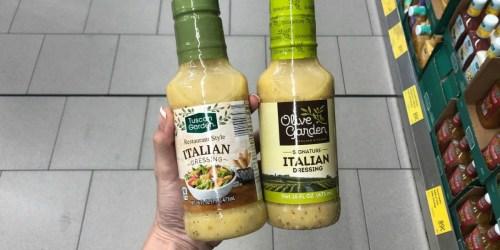 ALDI Sells a Knockoff Olive Garden Italian Salad Dressing