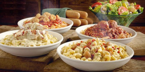 Olive Garden Coupon: Buy One Lunch Entrée & Get One 50% Off