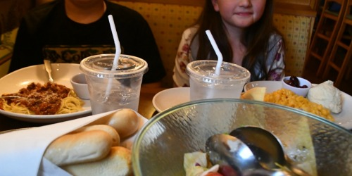 $1 Kids Meal with Purchase of Adult Entrée at Olive Garden
