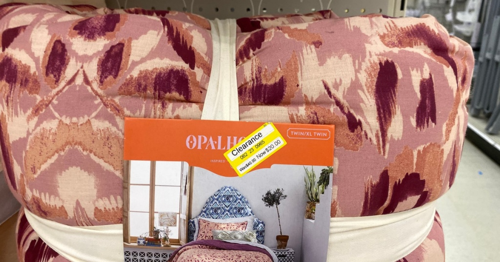 opalhouse quilt on shelf at target