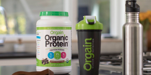 Orgain Organic Plant Based Protein Powder 2-Pounds Only $13.43 Shipped at Amazon