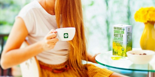 Organic Dandelion Root Detox Tea Only $6.39 Shipped on Amazon