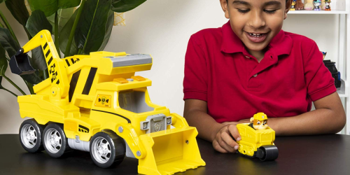PAW Patrol Ultimate Rescue Construction Truck Only $14.99 at Walmart (Regularly $35)