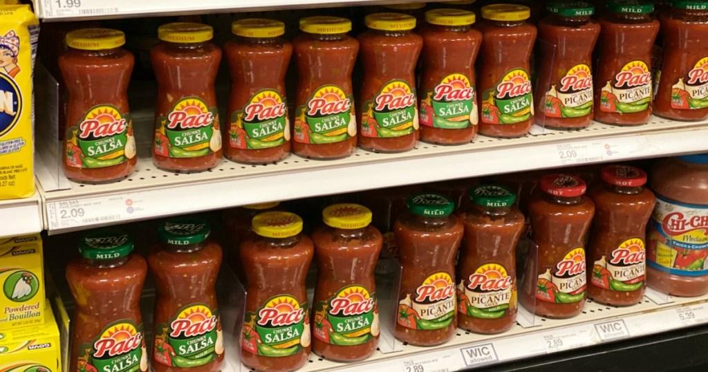 Pace Salsa on Target Shelf