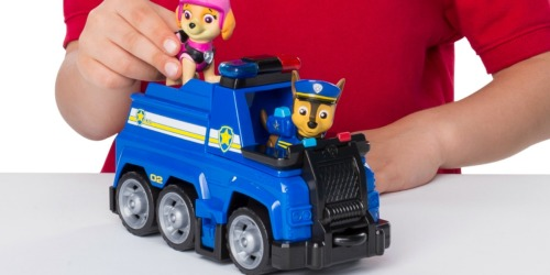 Paw Patrol Vehicle + Figure Playsets as Low as $6.99 (Regularly $13)